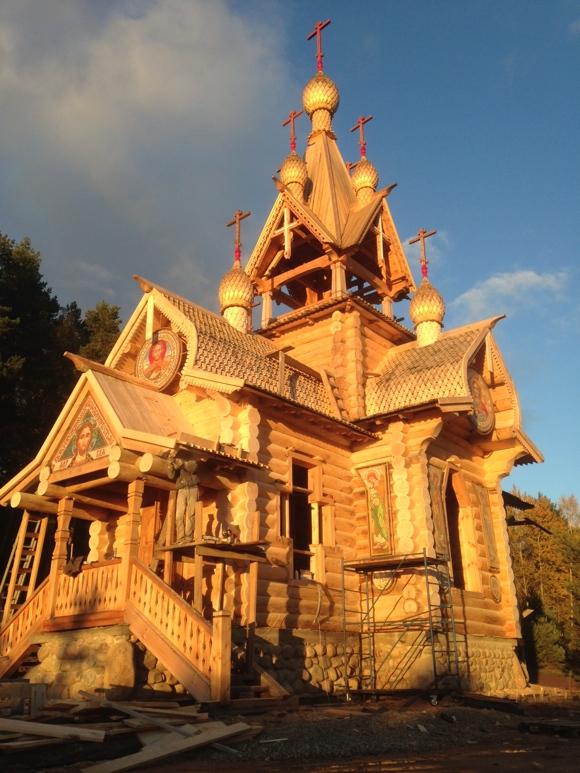 Деревянная церковь в Минске
